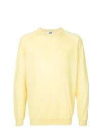 Maglione girocollo giallo di H Beauty&Youth