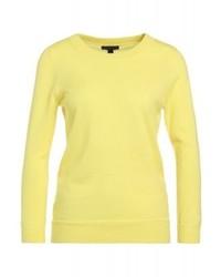 Maglione girocollo giallo di J.Crew