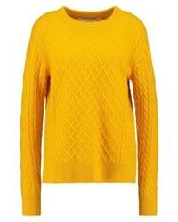 Maglione girocollo giallo di Samsøe & Samsøe