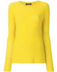 Maglione girocollo giallo di Unconditional