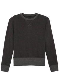 Maglione girocollo grigio scuro