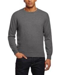 Maglione girocollo grigio scuro di Al Andalus