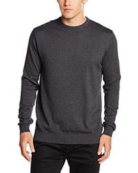 Maglione girocollo grigio scuro di Esprit