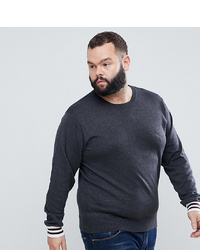 Maglione girocollo grigio scuro di French Connection