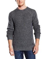 Maglione girocollo grigio scuro di Lee