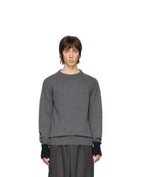 Maglione girocollo grigio scuro di Random Identities