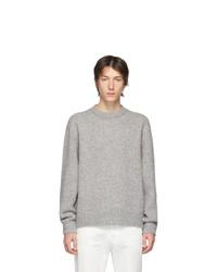 Maglione girocollo grigio di Acne Studios