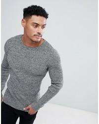 Maglione girocollo grigio di ASOS DESIGN