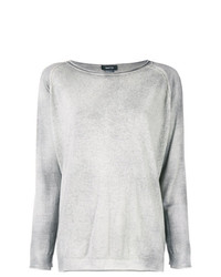 Maglione girocollo grigio di Avant Toi