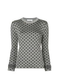 Maglione girocollo grigio di Chloé