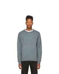 Maglione girocollo grigio di John Elliott