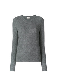 Maglione girocollo grigio di Le Kasha