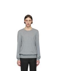Maglione girocollo grigio di Maison Margiela