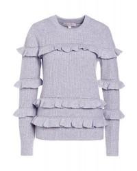 Maglione girocollo grigio di Michael Kors