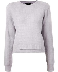 Maglione girocollo grigio di Proenza Schouler