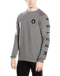 Maglione girocollo grigio di Volcom