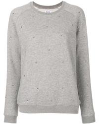 Maglione girocollo grigio di Zoe Karssen