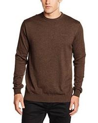 Maglione girocollo marrone di Esprit