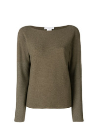 Maglione girocollo marrone di Fabiana Filippi
