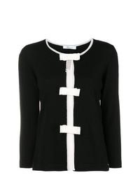 Maglione girocollo nero e bianco di Blumarine