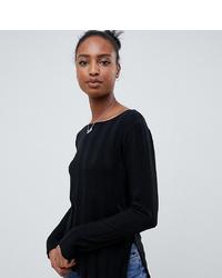 Maglione girocollo nero di Asos Tall