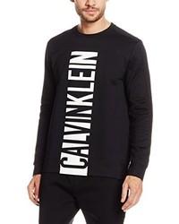 Maglione girocollo nero di Calvin Klein Jeans