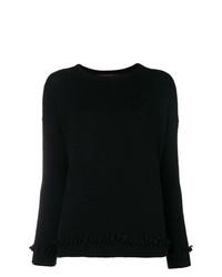 Maglione girocollo nero di Incentive! Cashmere