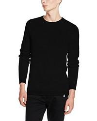 Maglione girocollo nero di Jack & Jones