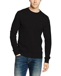 Maglione girocollo nero di JACK & JONES PREMIUM