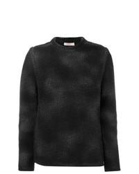 Maglione girocollo nero di Liska