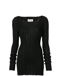 Maglione girocollo nero di Maison Margiela