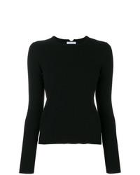 Maglione girocollo nero di Malo