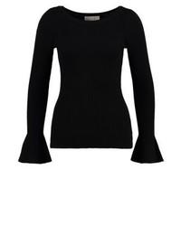 Maglione girocollo nero di Michael Kors