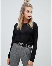 Maglione girocollo nero di Noisy May