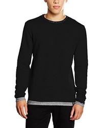 Maglione girocollo nero di Only