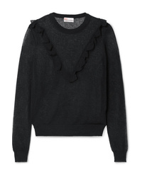 Maglione girocollo nero di REDVALENTINO