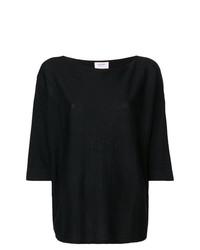 Maglione girocollo nero di Snobby Sheep