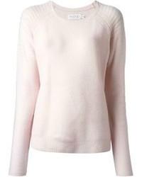 Maglione girocollo rosa