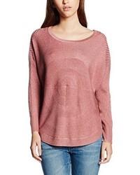 Maglione girocollo rosa di Only