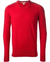 Maglione girocollo rosso