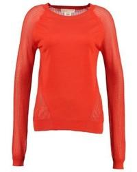 Maglione girocollo rosso di Michael Kors
