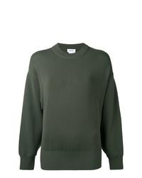 Maglione girocollo verde oliva di DKNY