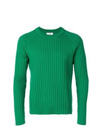 Maglione girocollo verde di AMI Alexandre Mattiussi