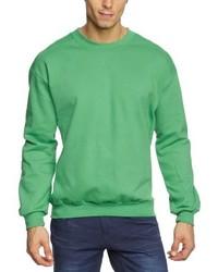 Maglione girocollo verde di Anvil