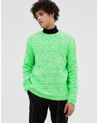 Maglione girocollo verde di ASOS DESIGN