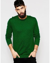 Maglione girocollo verde di Asos