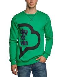 Maglione girocollo verde di Björkvin