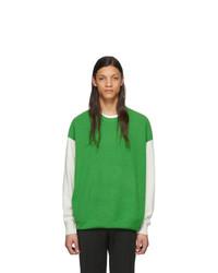 Maglione girocollo verde di Givenchy