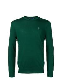 Maglione girocollo verde di Polo Ralph Lauren