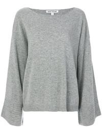 Maglione in cashmere grigio di Elizabeth and James